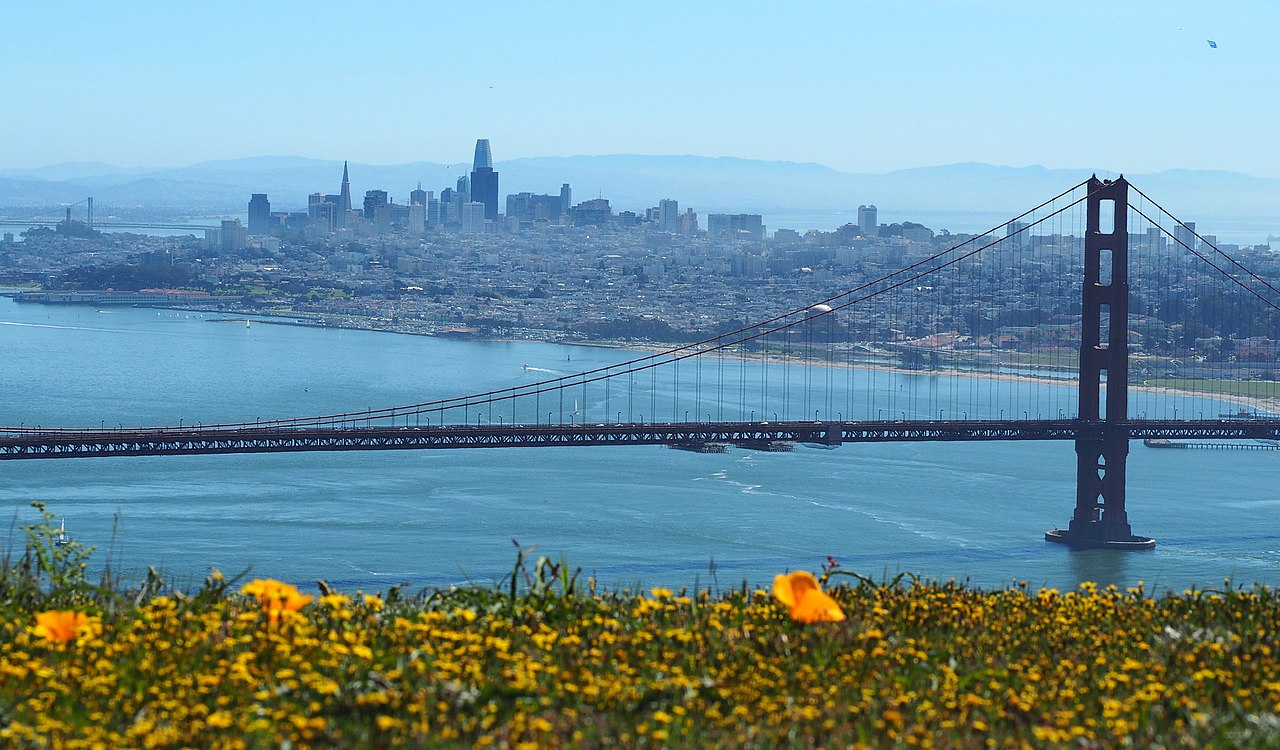 San Francisco - Best Vacation City in California