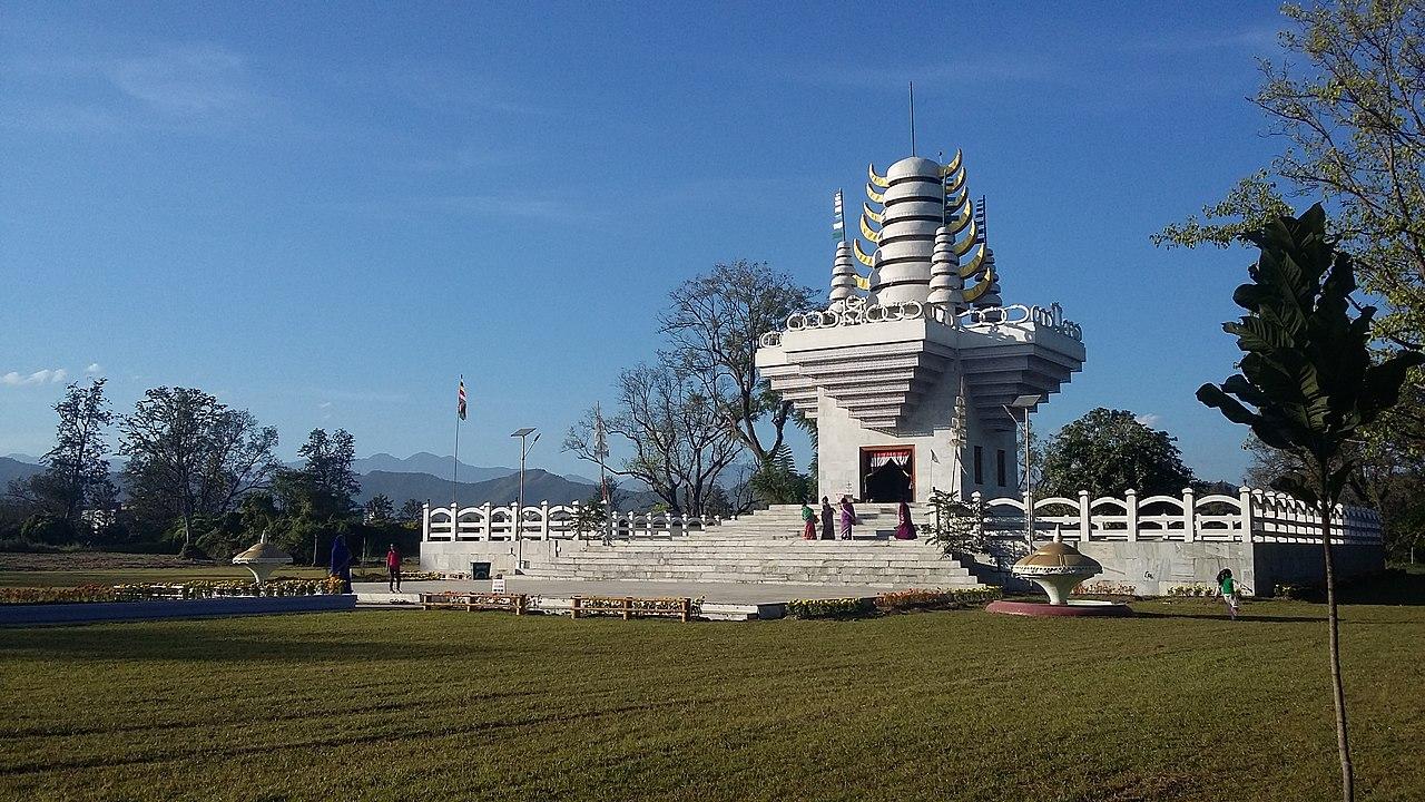 Famous Temple in Manipur-Sanamahi Temple