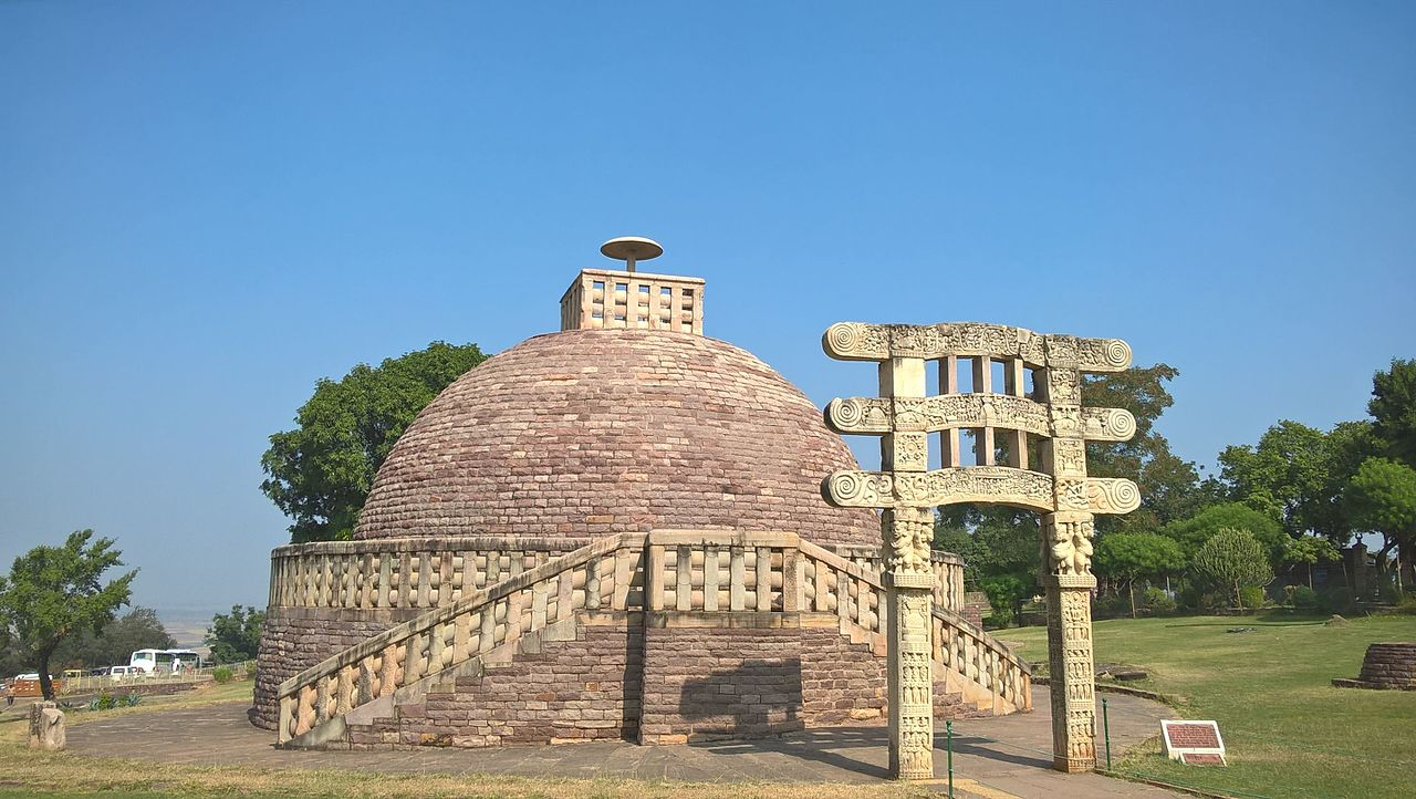 Famous Weekend Getaway From Bhopal-Sanchi Stupa in Sanchi