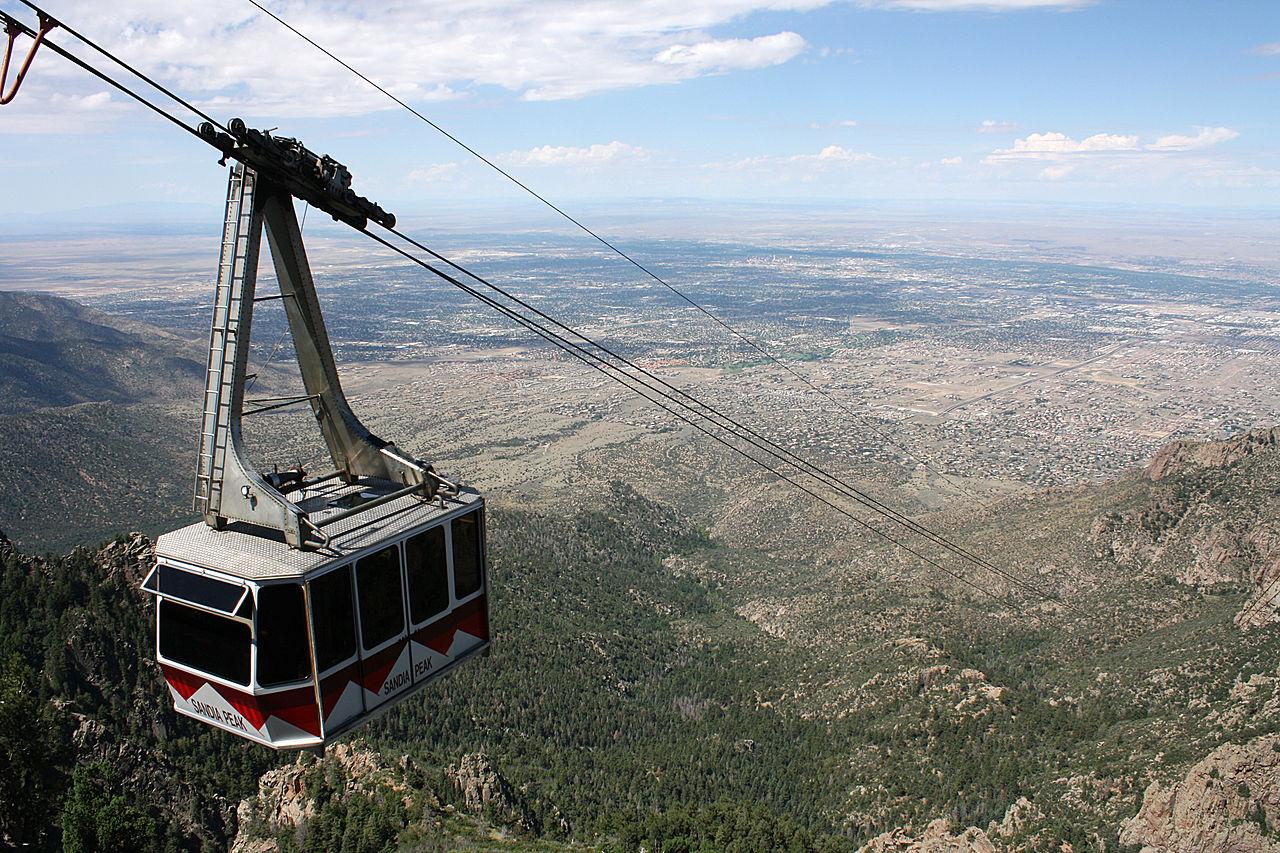 Amazing Destination to Visit In New Mexico-Sandia Peak Tramway