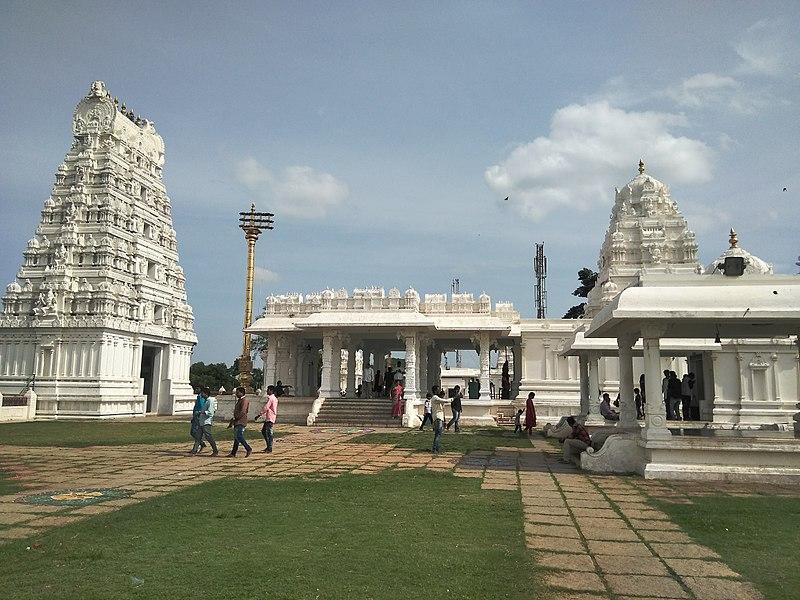 Top Temple in Telangana-Sanghi Temple