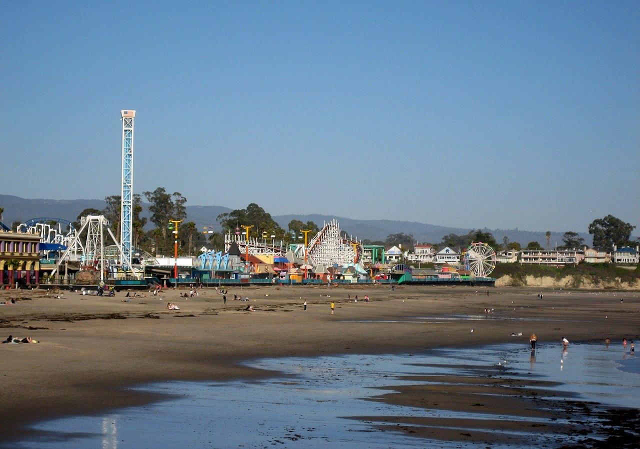 Amazing Beach in California-Santa Cruz