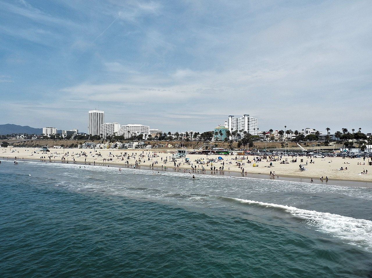 Top-Rated Place in Los Angeles-Santa Monica Beach