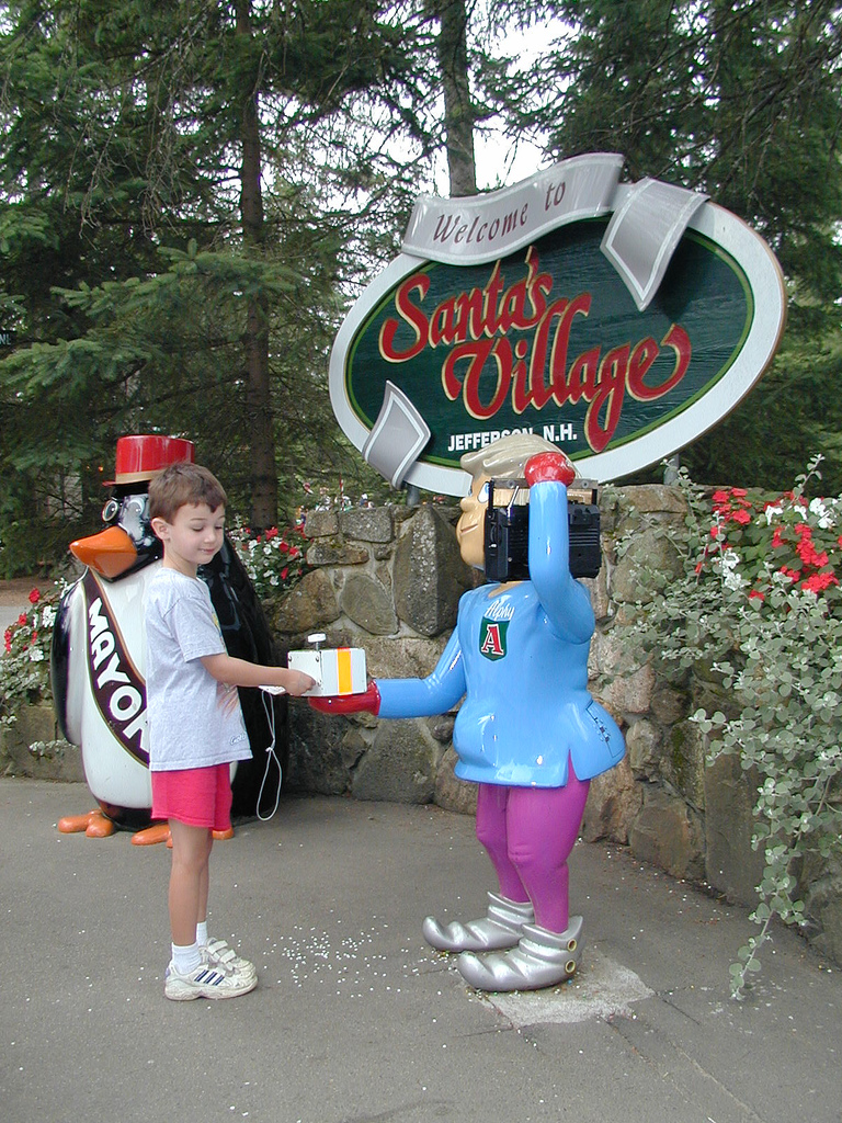 Attraction Tourist Place In New Hampshire-Santa's Village