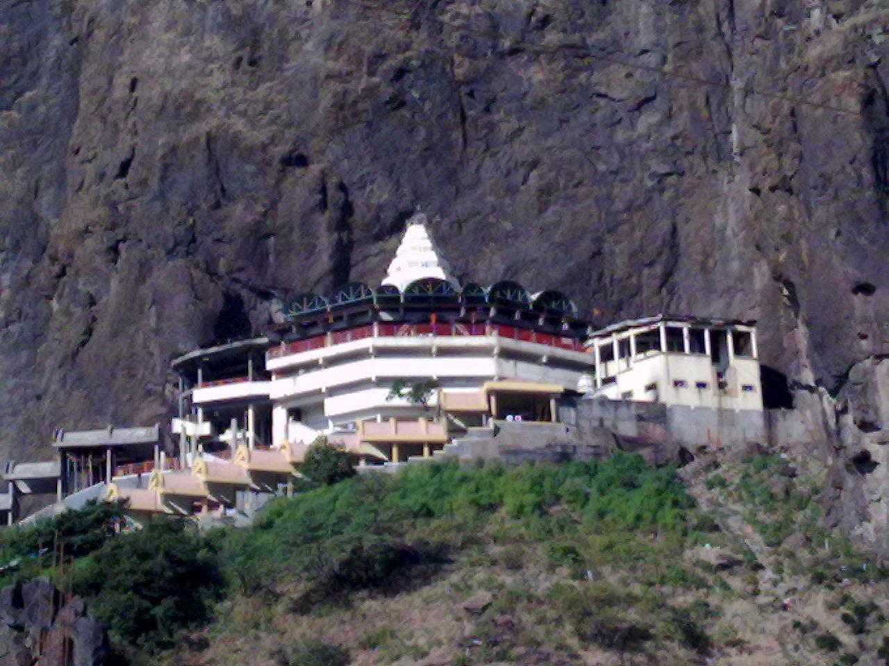 Saptashrungi Devi Temple - in Nanduri, Kalwan taluka, Nashik
