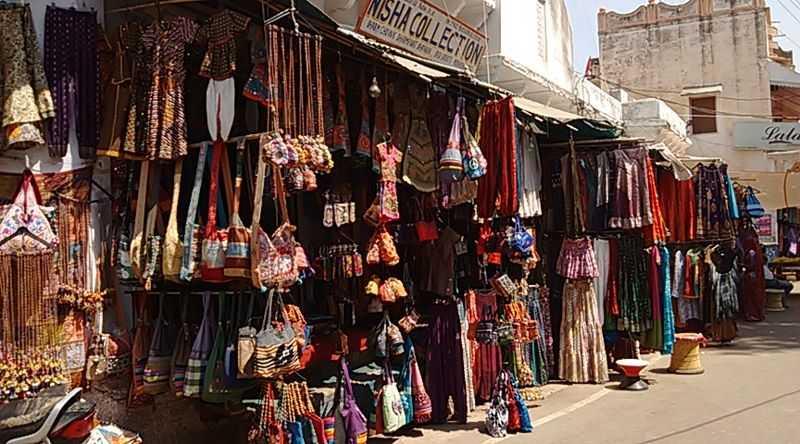 Shopping in Pushkar, Rajasthan-Sarafa Bazaar