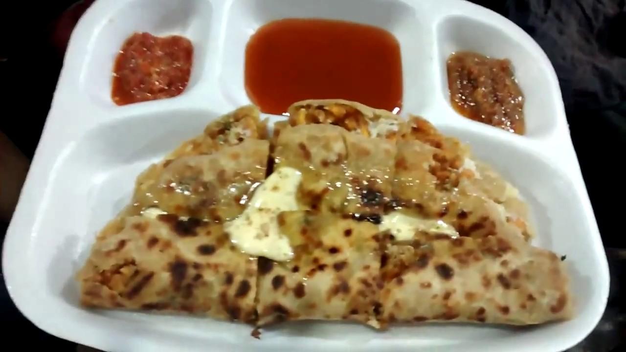 Indore Popular Street Food Dish-Sarafa Ke Parathe