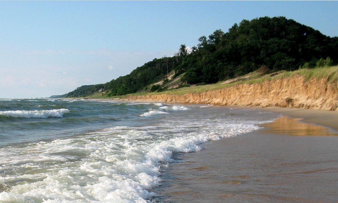 Top Beach of Michigan-Saugatuck Dunes State Park Beach