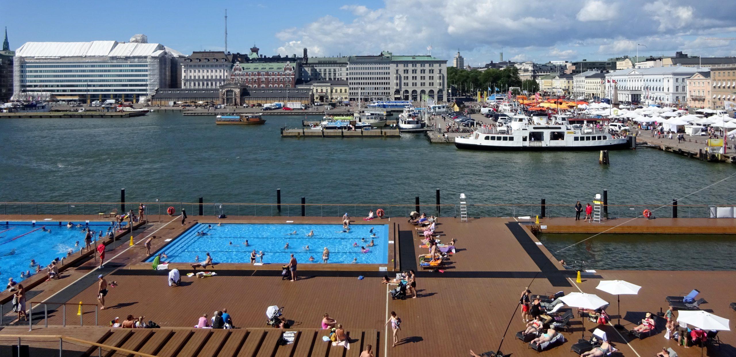 Finland Travel-Sea Port in Finland