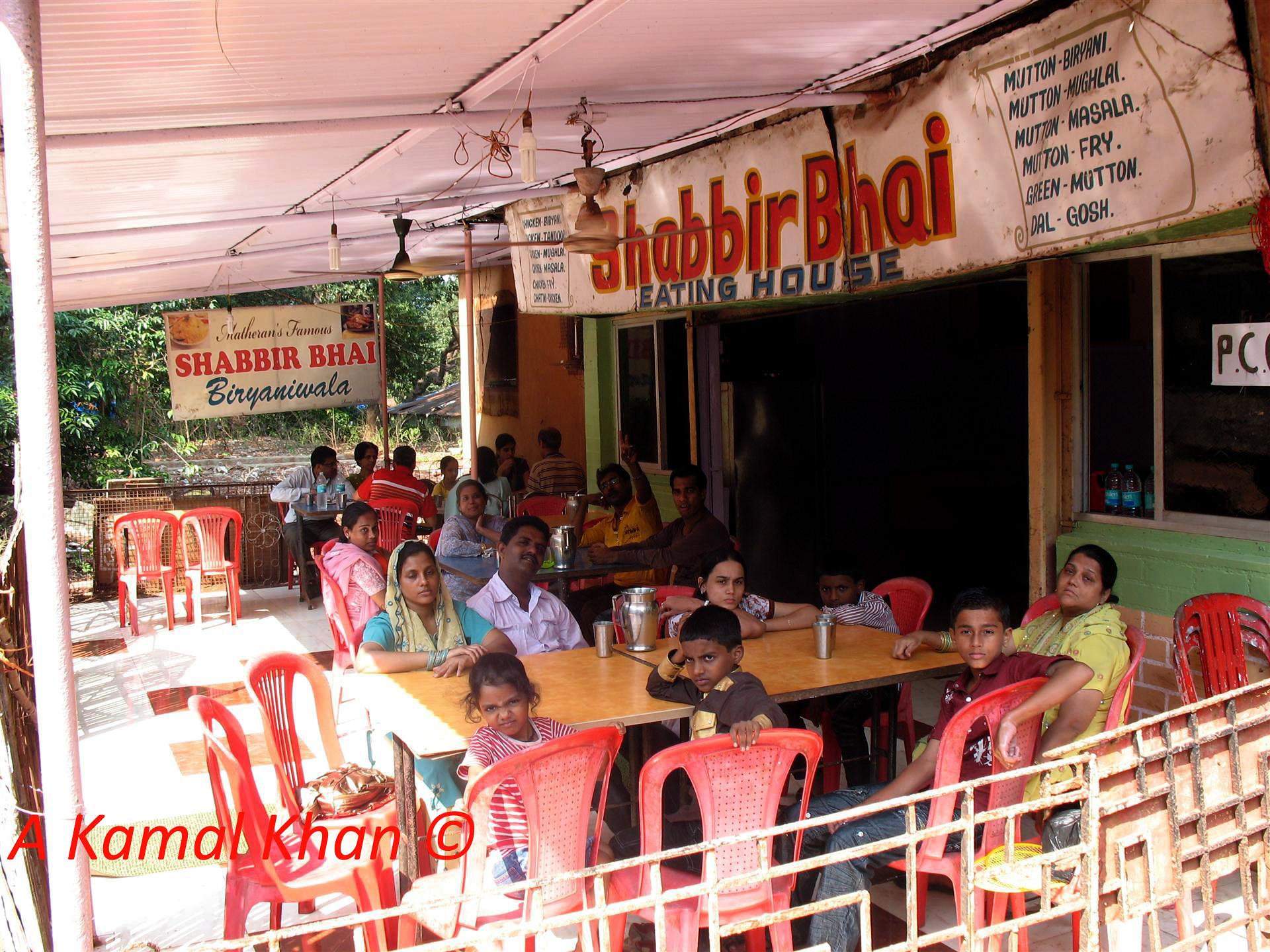 Shabbir Bhai Biryaniwala-Top Restaurant in Matheran