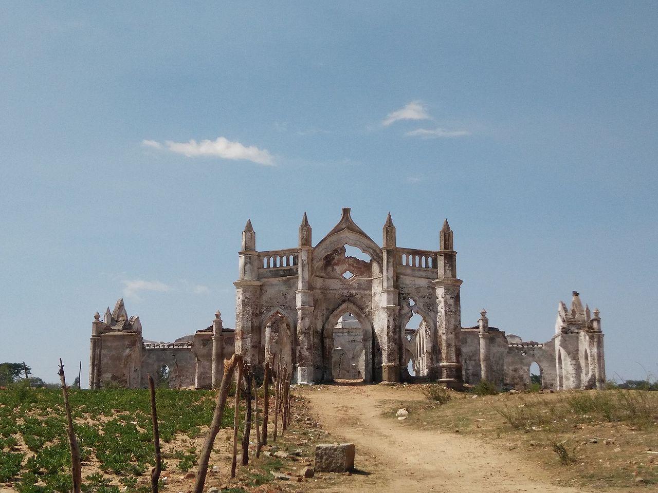 Attraction Tourist Place in Sakleshpur-Shettihalli Rosary Church