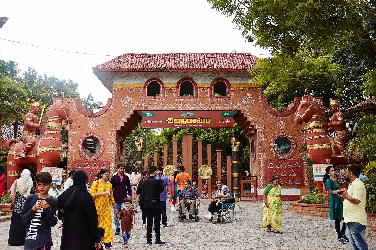 Amazing Attraction Near Bhavani Islands-Shilparamam