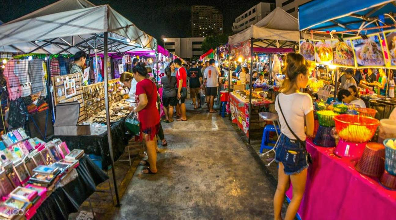Shop At The Night Markets in Krabi