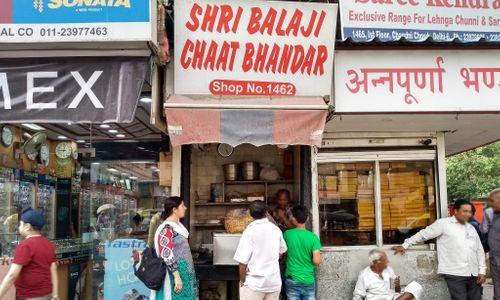 Shree Balaji Chaat Bhandar - Chandni Chowk