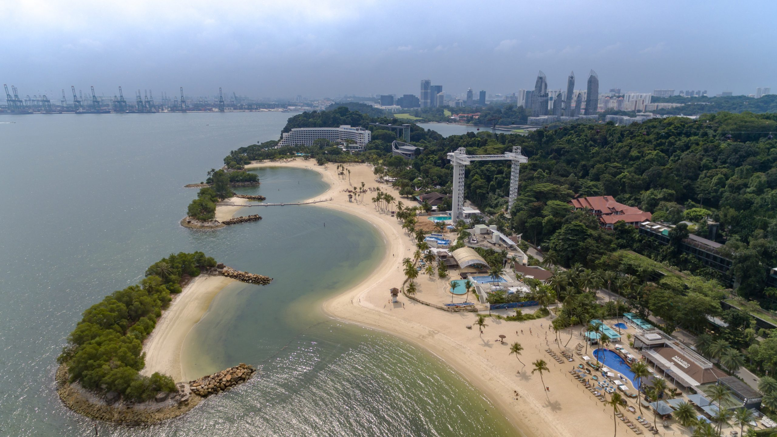 Siloso Beach - Amazing Beache in Singapore That Shouldn't Be Missed by Beach Lovers!