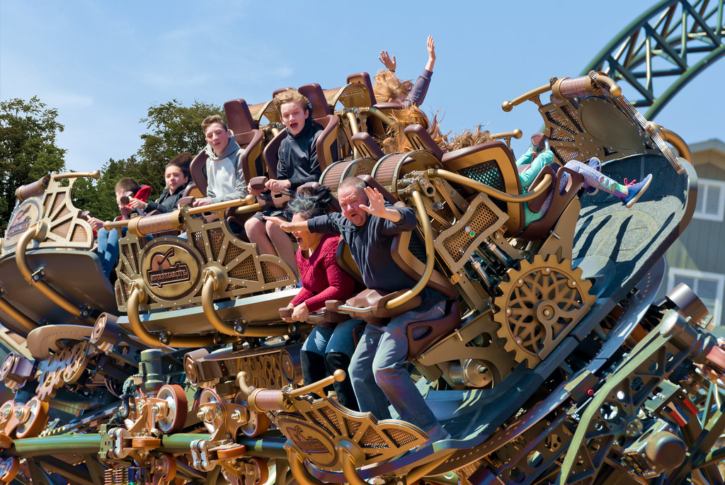 Top-Rated Place In Missouri-Silver Dollar City