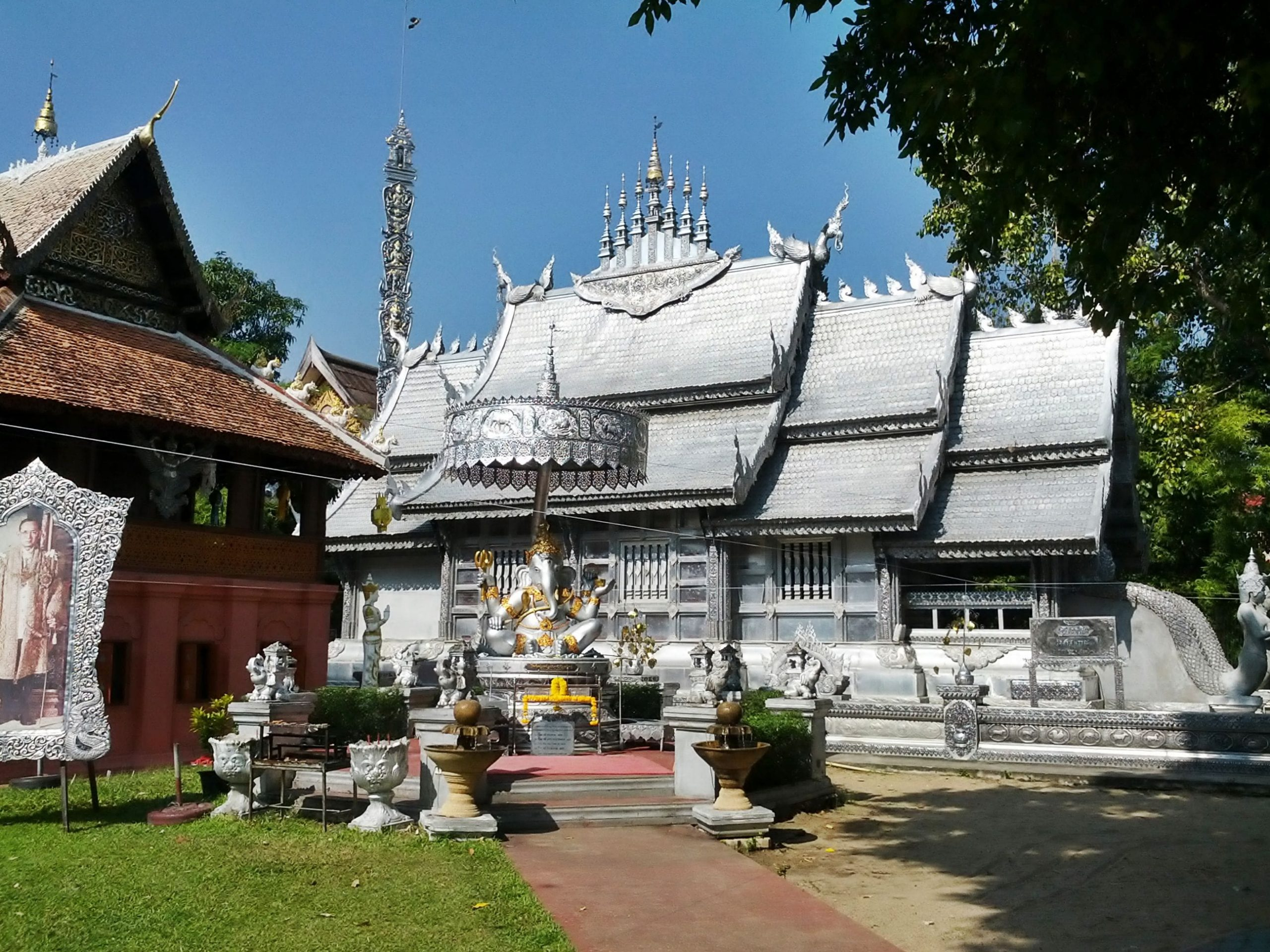 Silver Temple, Chiang Mai in Thailand