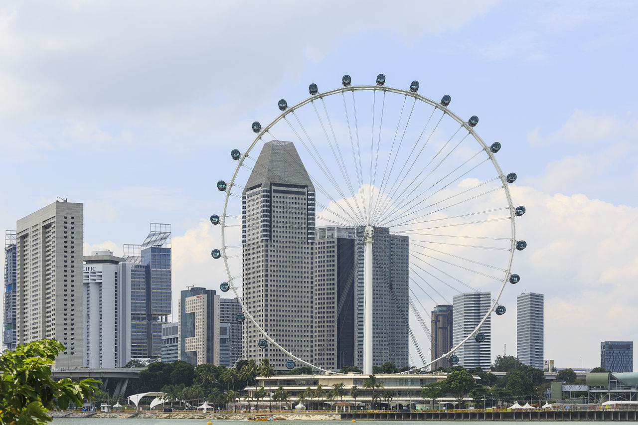 Spectacular Place in Singapore-Singapore Flyer