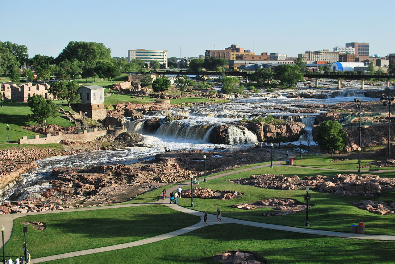Top Place in South Dakota-Sioux Falls