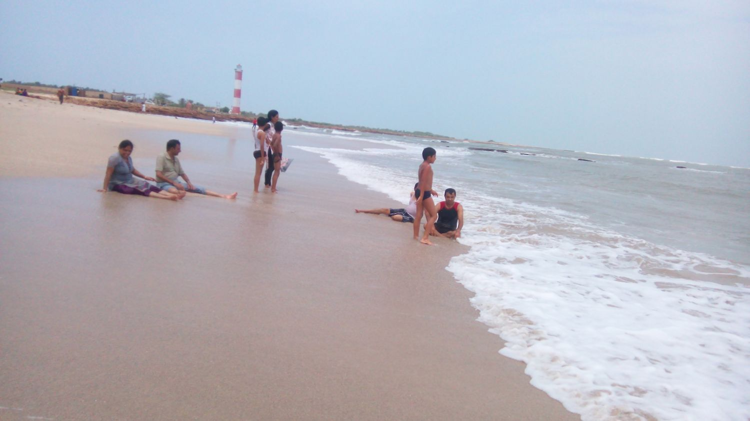 Place Of Tourist Interest in Jamnagar-Sivrajpur Beach