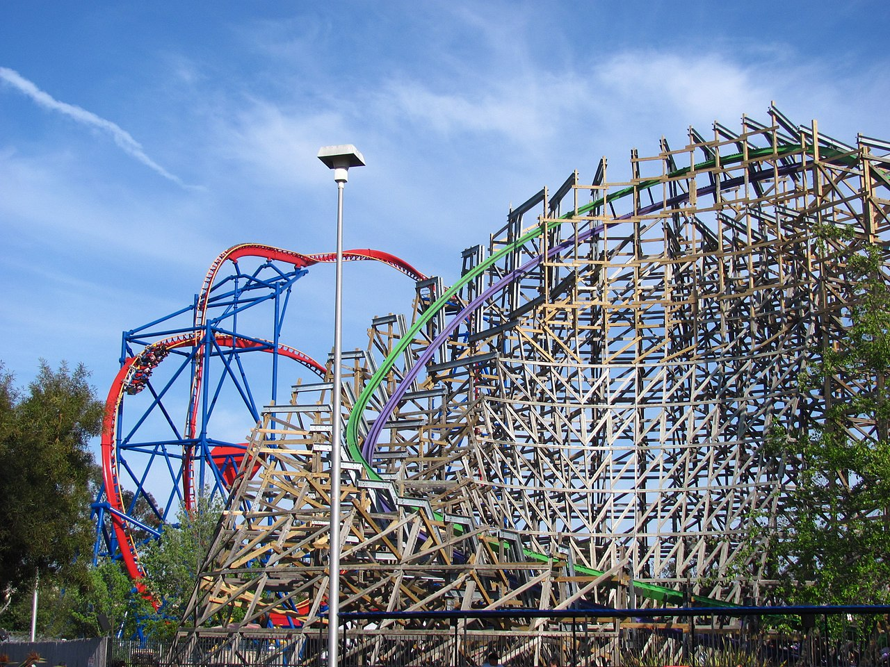 Famous Theme Park In California-Six Flags Discovery Kingdom