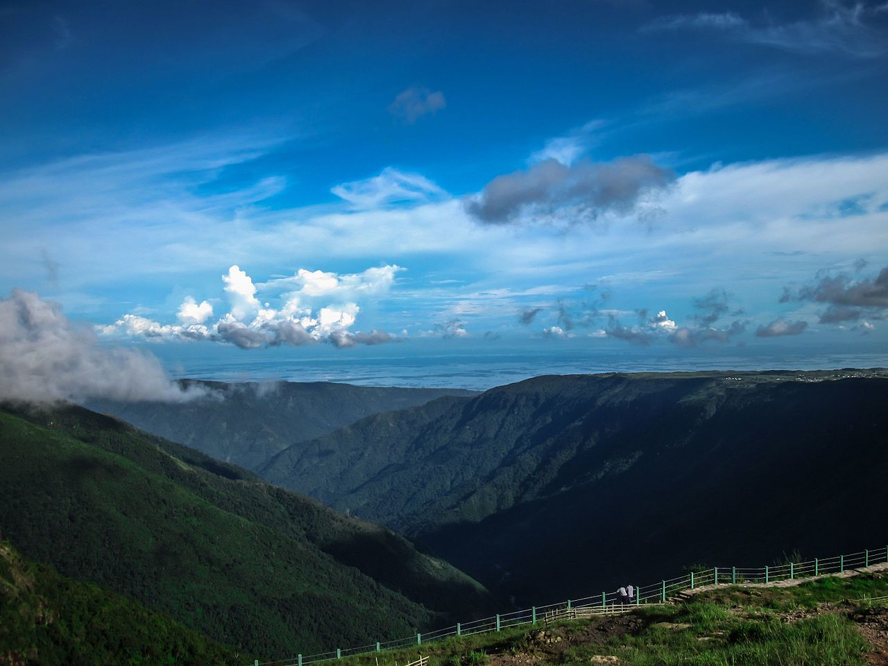 Place To Visit Around The Mawlynnong Waterfalls-Skyview Point Bangladesh