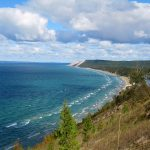 Sleeping Bear Dunes National Lakeshore - Top Beach of Michigan