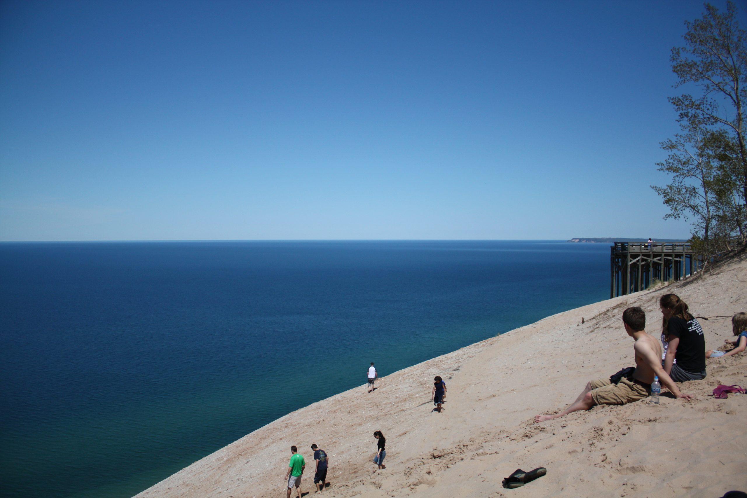 Amazing Sight-Seeing Destinations in Michigan-Sleeping Bear Dunes National Lakeshore and Lake Michigan