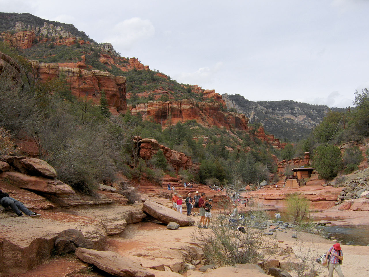 Slide Rock State Park - Place To Visit In Sedona