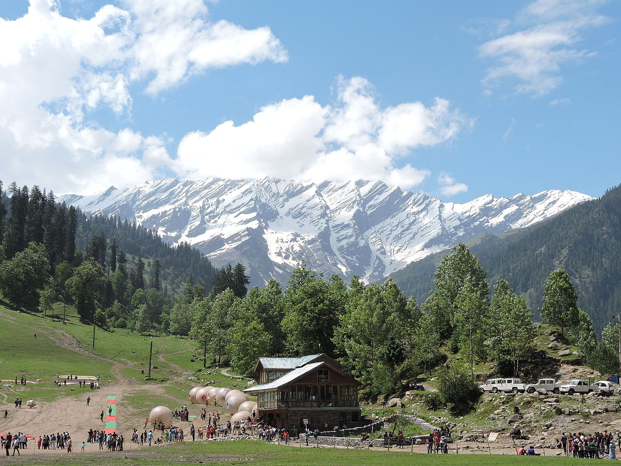 Top-Rated Sight-Seeing Destination in Gulaba-Solang Valley, Manali, Himachal Pradesh