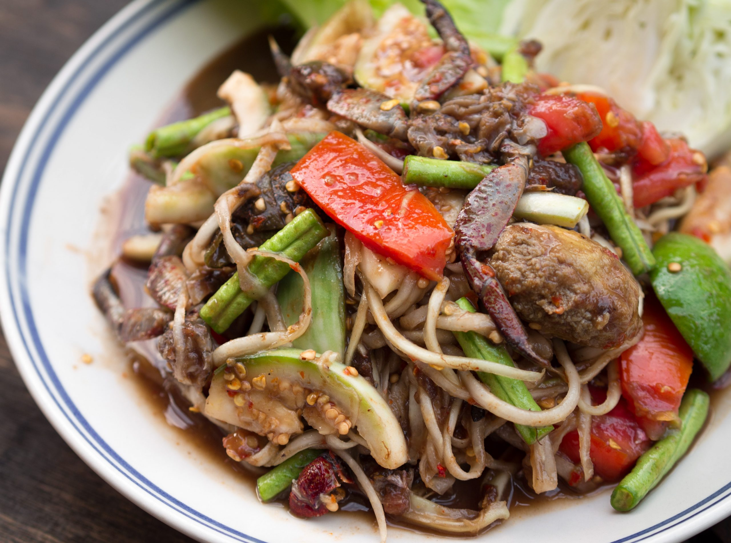 Best Dishes Try When You are in Thailand-Som Tam