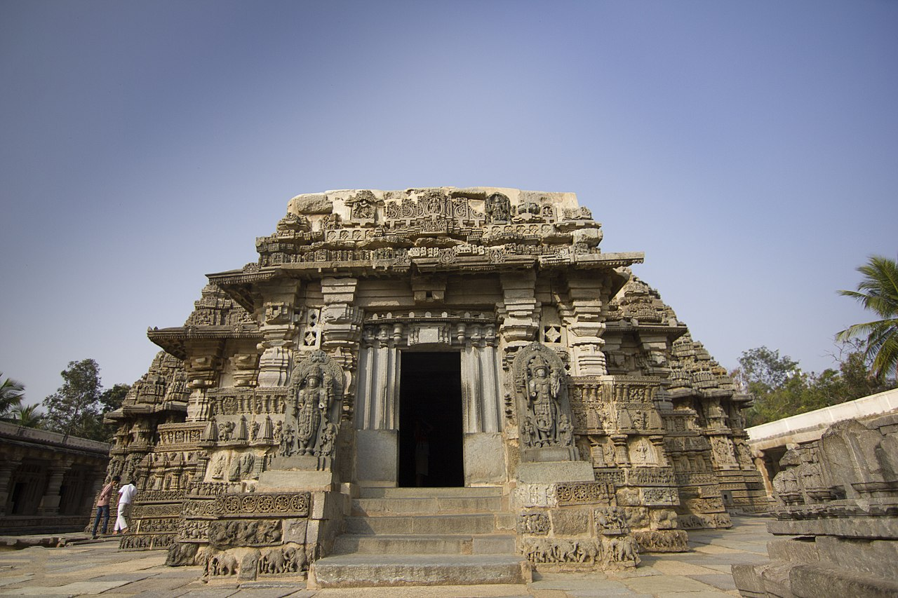 Amazing Place To See Near The Cauvery Wildlife Sanctuary In Muthathi-Somanathapura, Chennakesava Temple