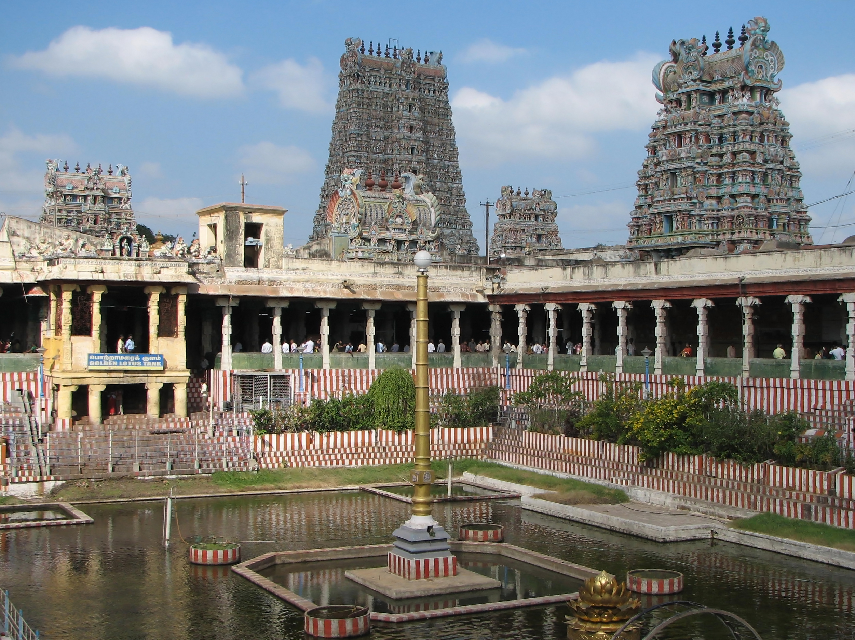 Top Destination in TamilNadu-Madurai, Sree Meenakshi Amman Temple
