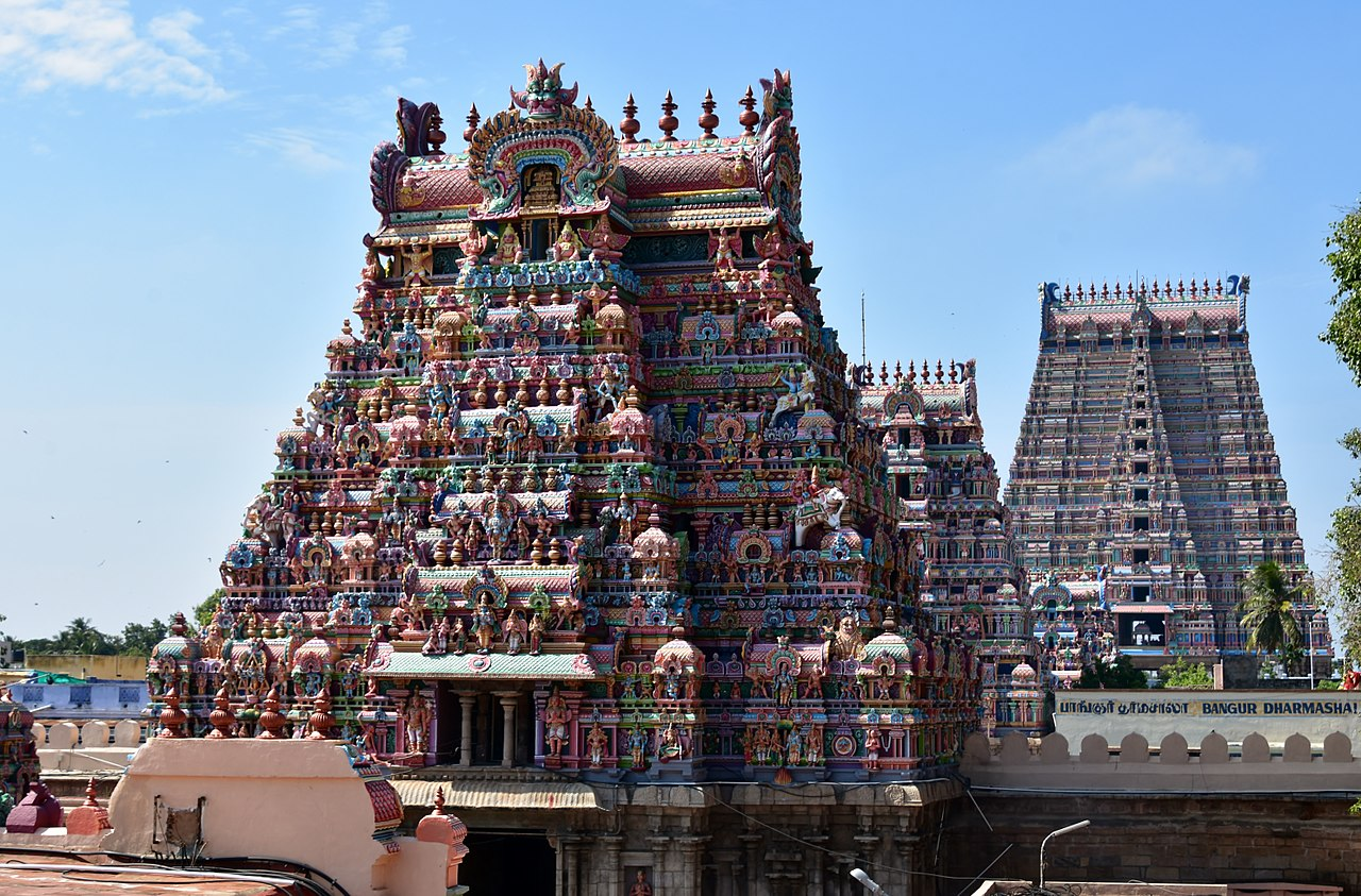 Sri Ranganathaswamy Temple in Srirangam-Temple to Visit in Tamil Nadu