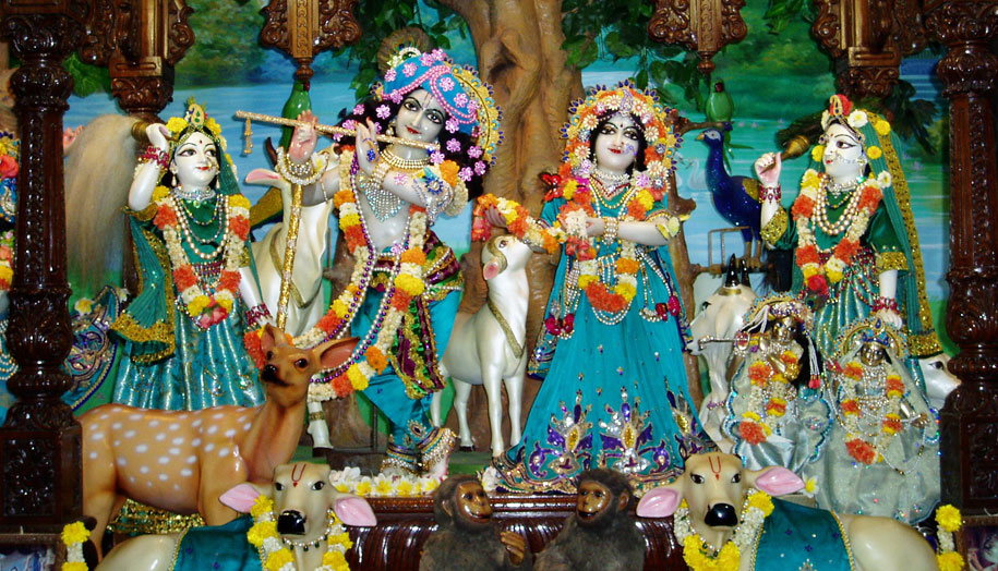 Sri Sri Radha Gopinath Temple Powerful Temple in Mumbai
