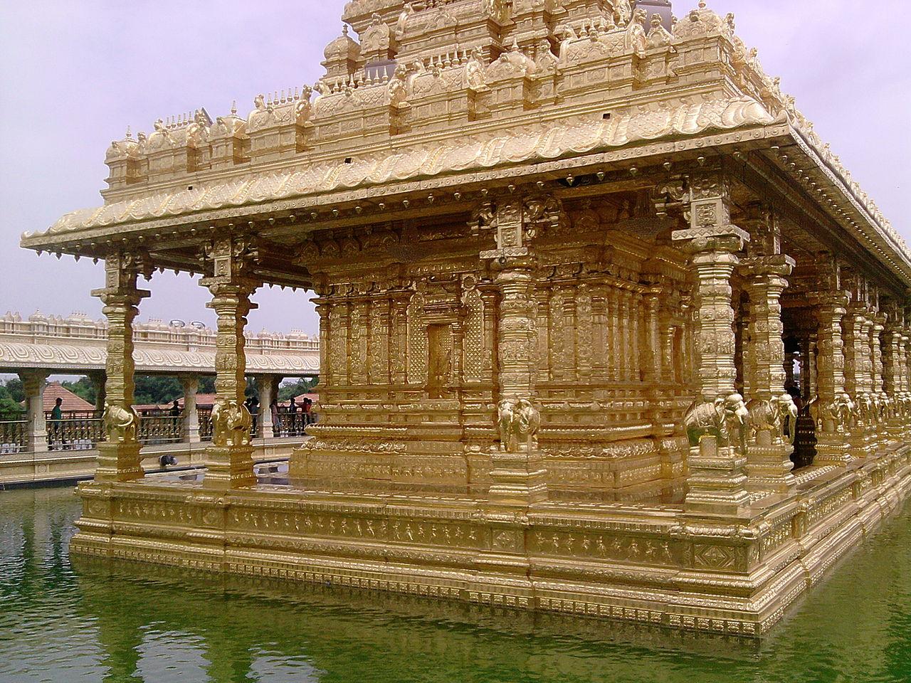 Beautiful Weekend Destination From Kanchipuram-Vellore, Sripuram Golden Temple