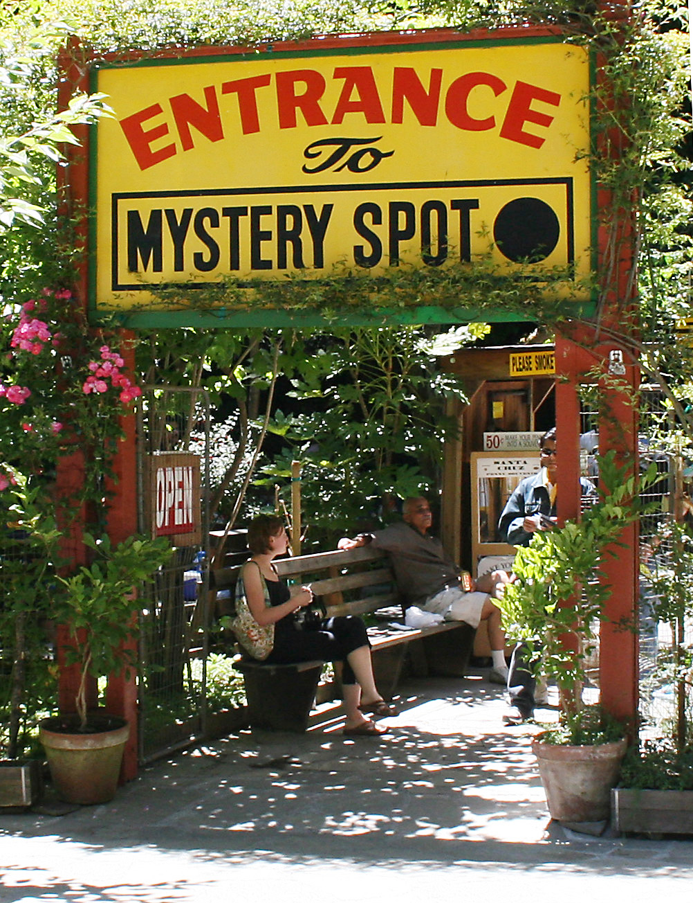 Best Amusement Park in Michigan-St. Ignace Mystery Spot