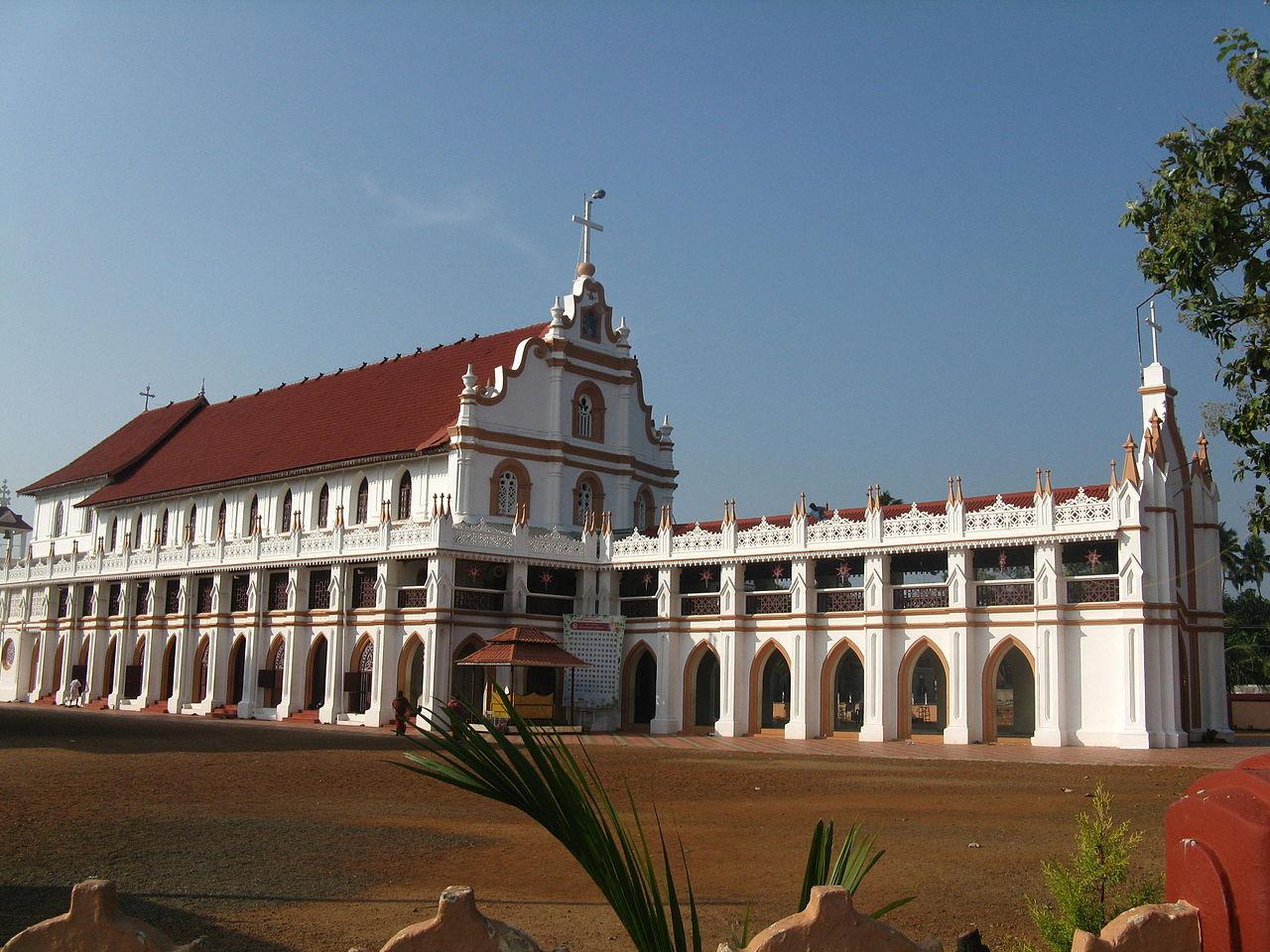 Famous Church in Kerala-St. George Forane Church, Edathua