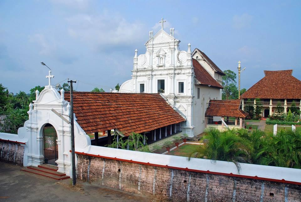 Popular Attraction in Kumarakom-St. Mary's Church in Cheriapally
