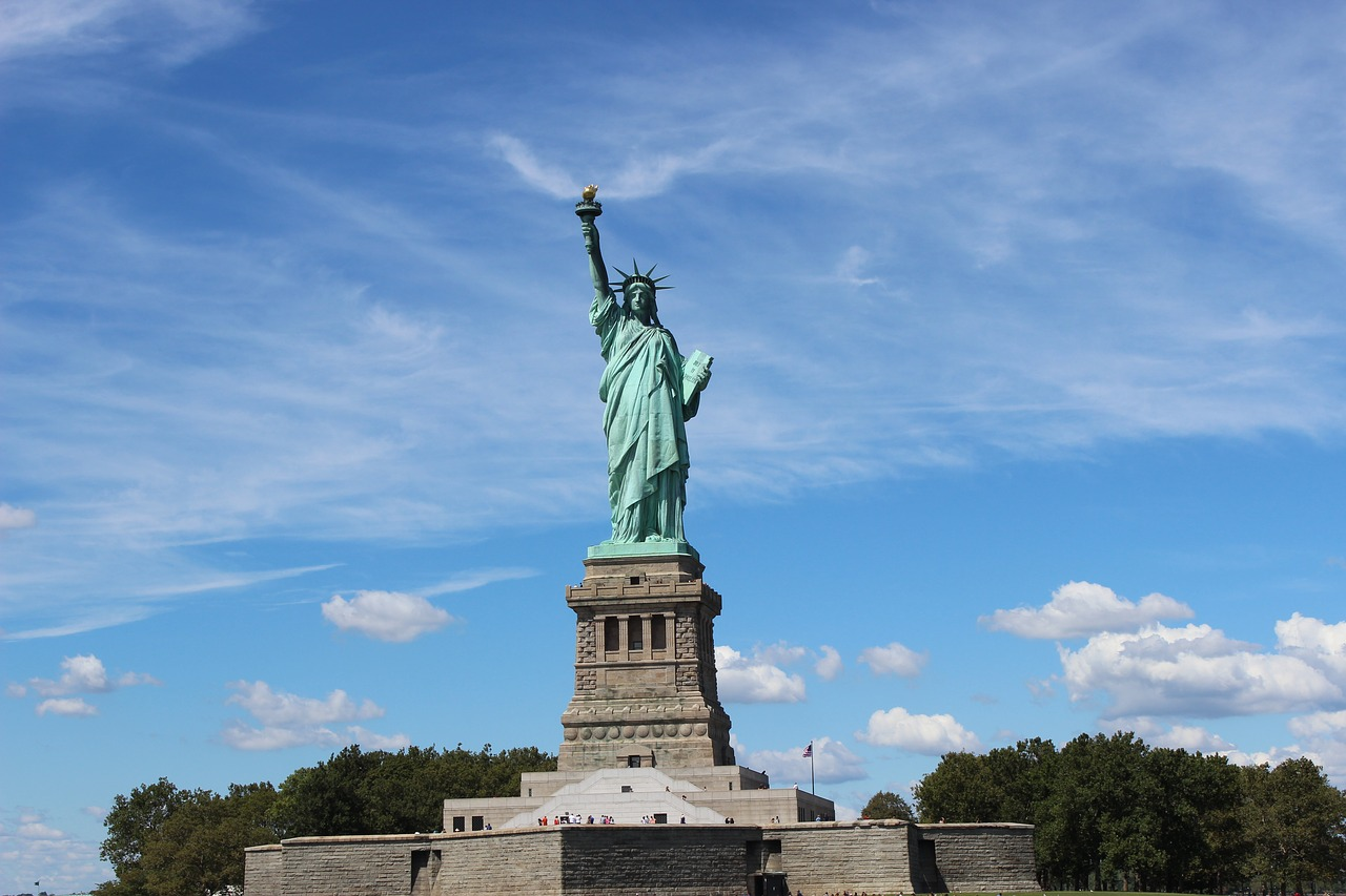 Statue of Liberty in in New York, USA