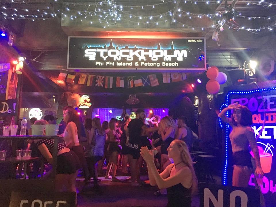 Best Phi Phi Nightlife Place-Stockholm Syndrome
