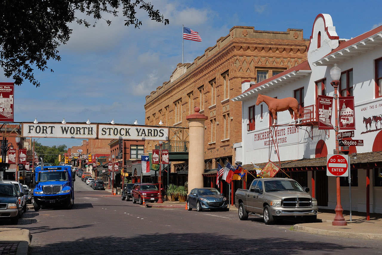 Nice Historical Commission Sites In Texas-Stockyards National Historic Districtite
