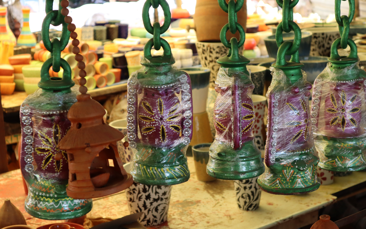 Shopping In Bijapur-Stone Decorative Items