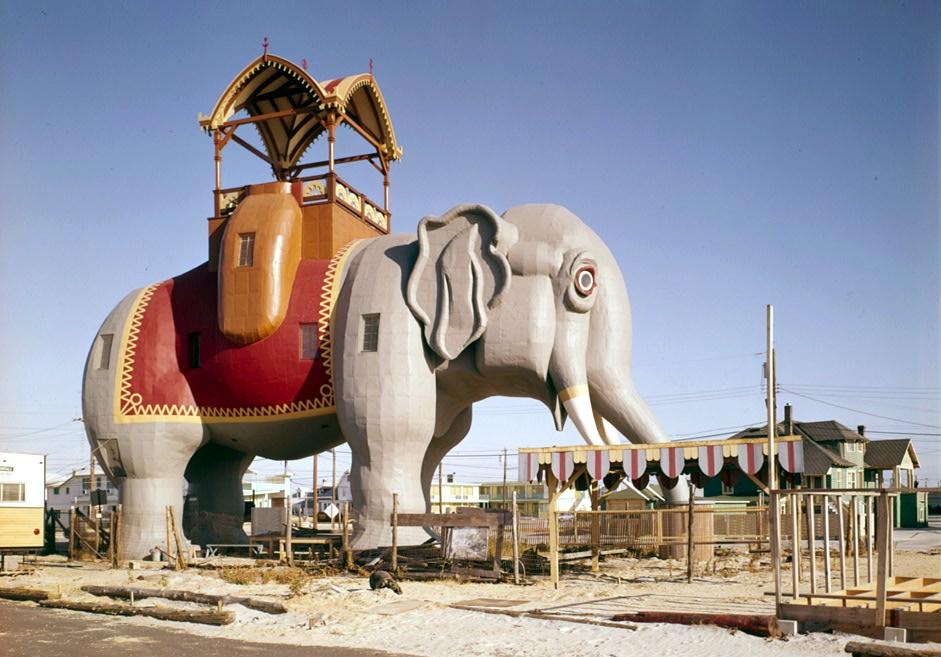Atlantic City-Take A Stroll Inside Lucy, The Elephant