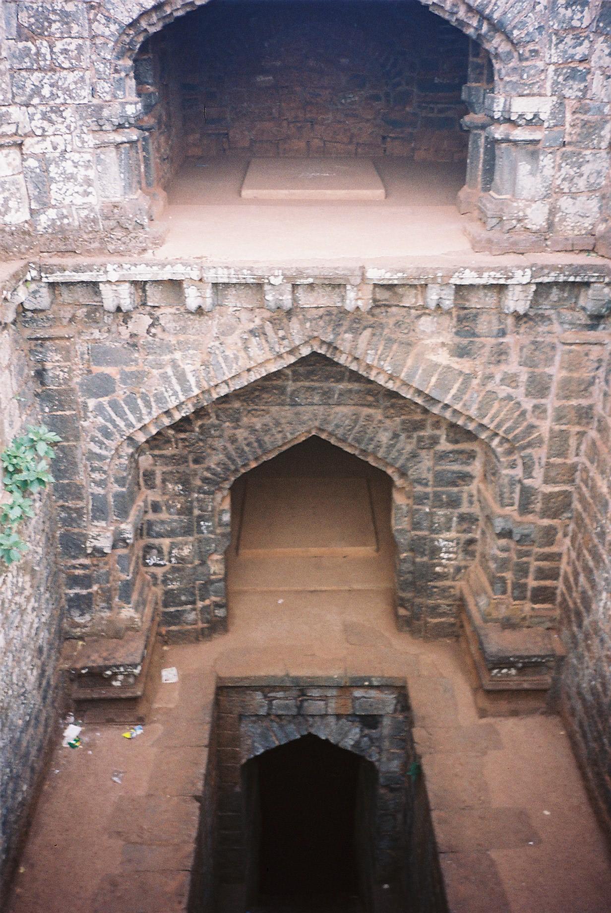 Structures Inside Panhala Fort