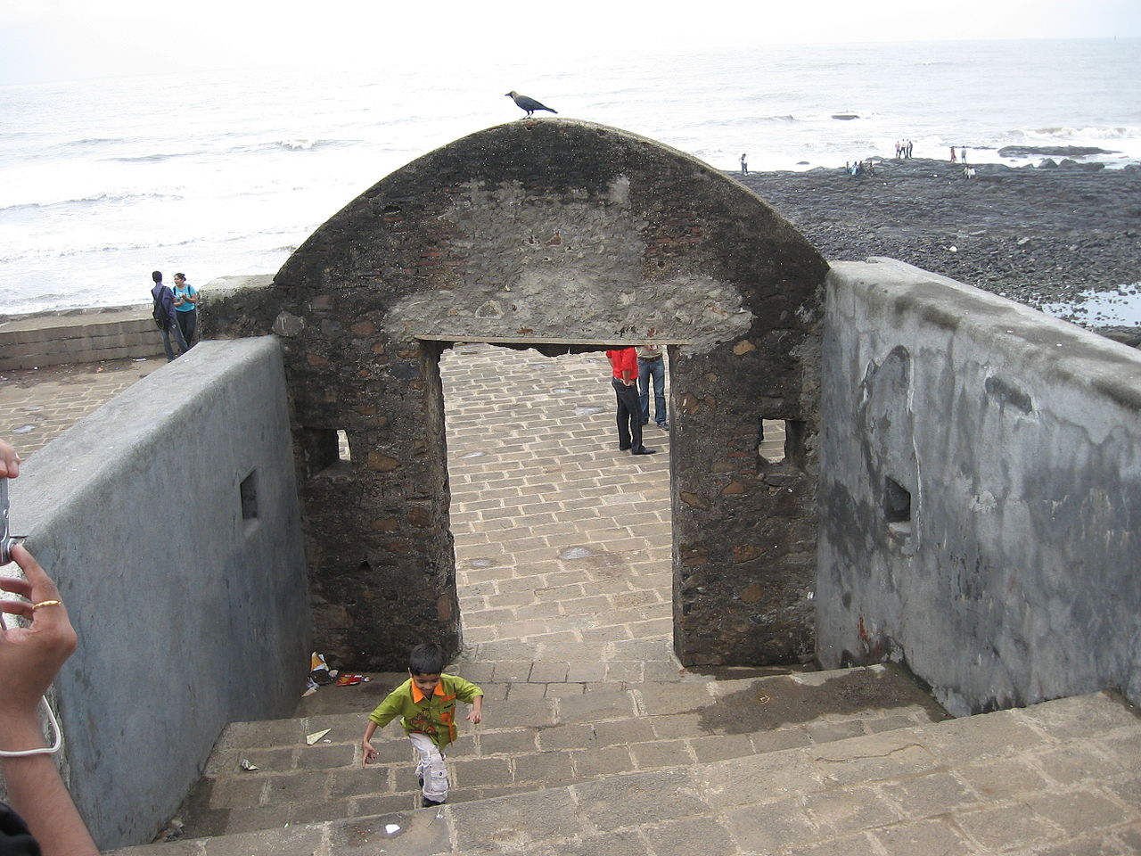 Structures Inside the Bandra Fort