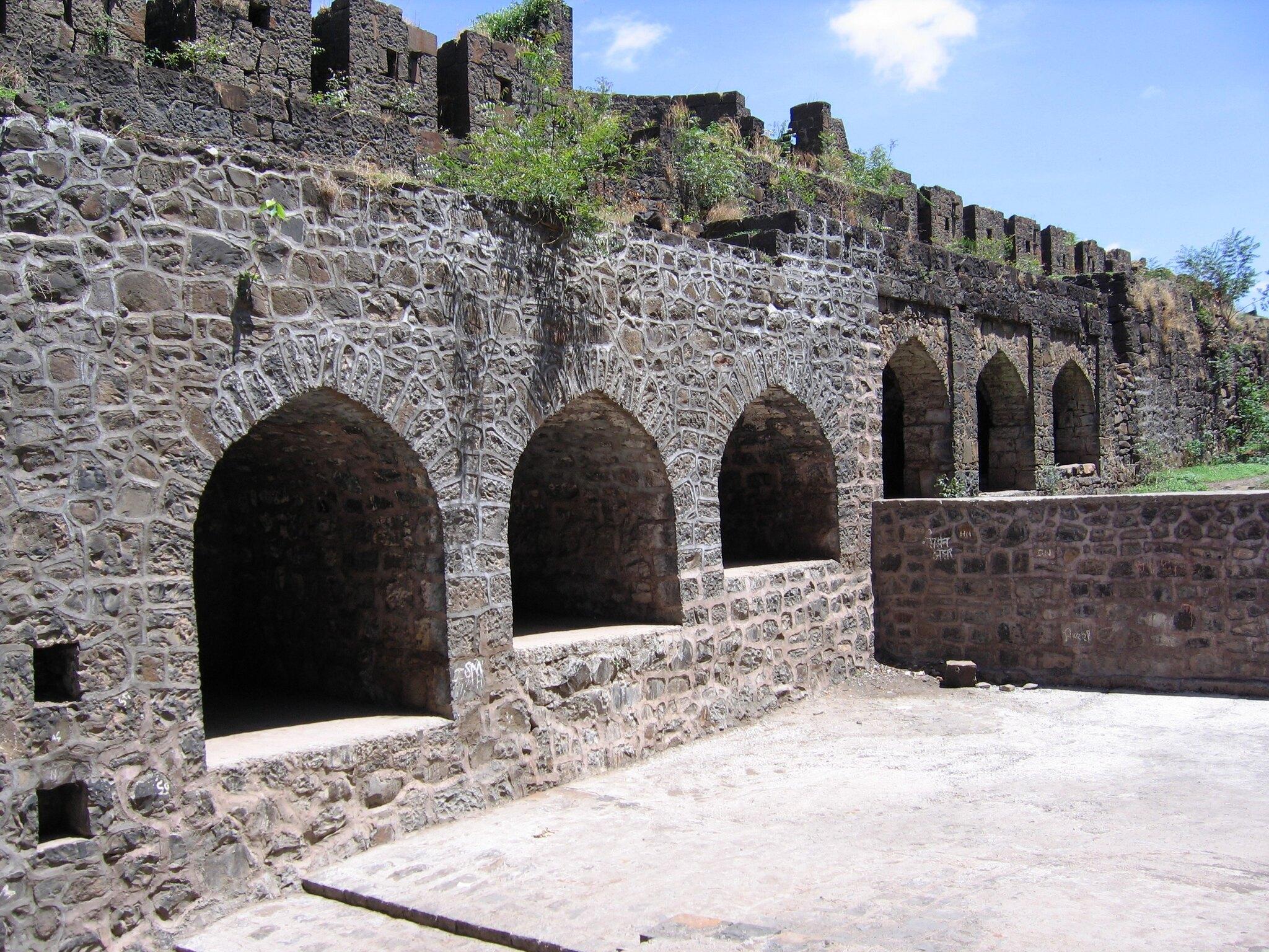 Structures Inside the Naldurg Fort