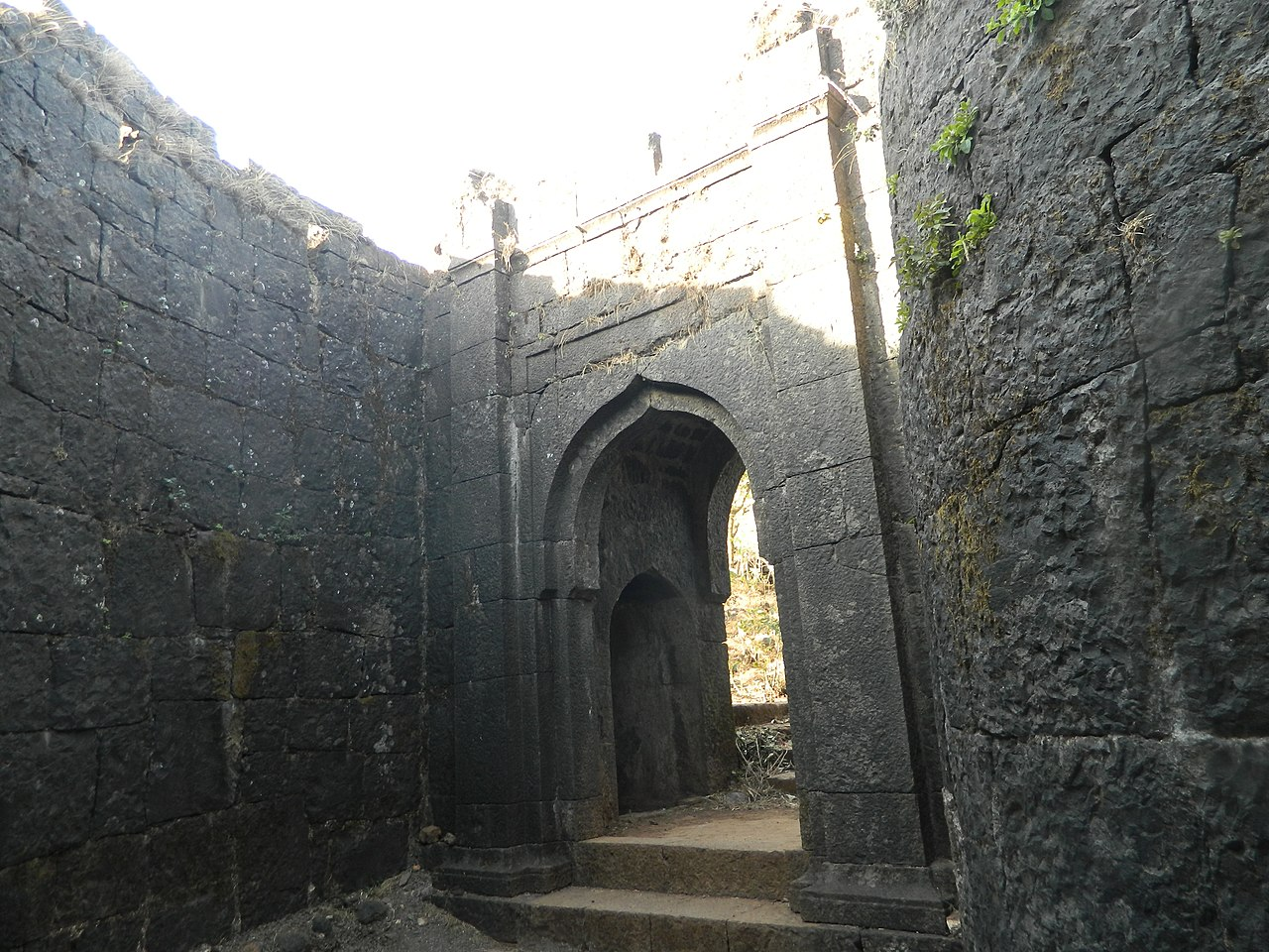 Structures Inside the Torna Fort