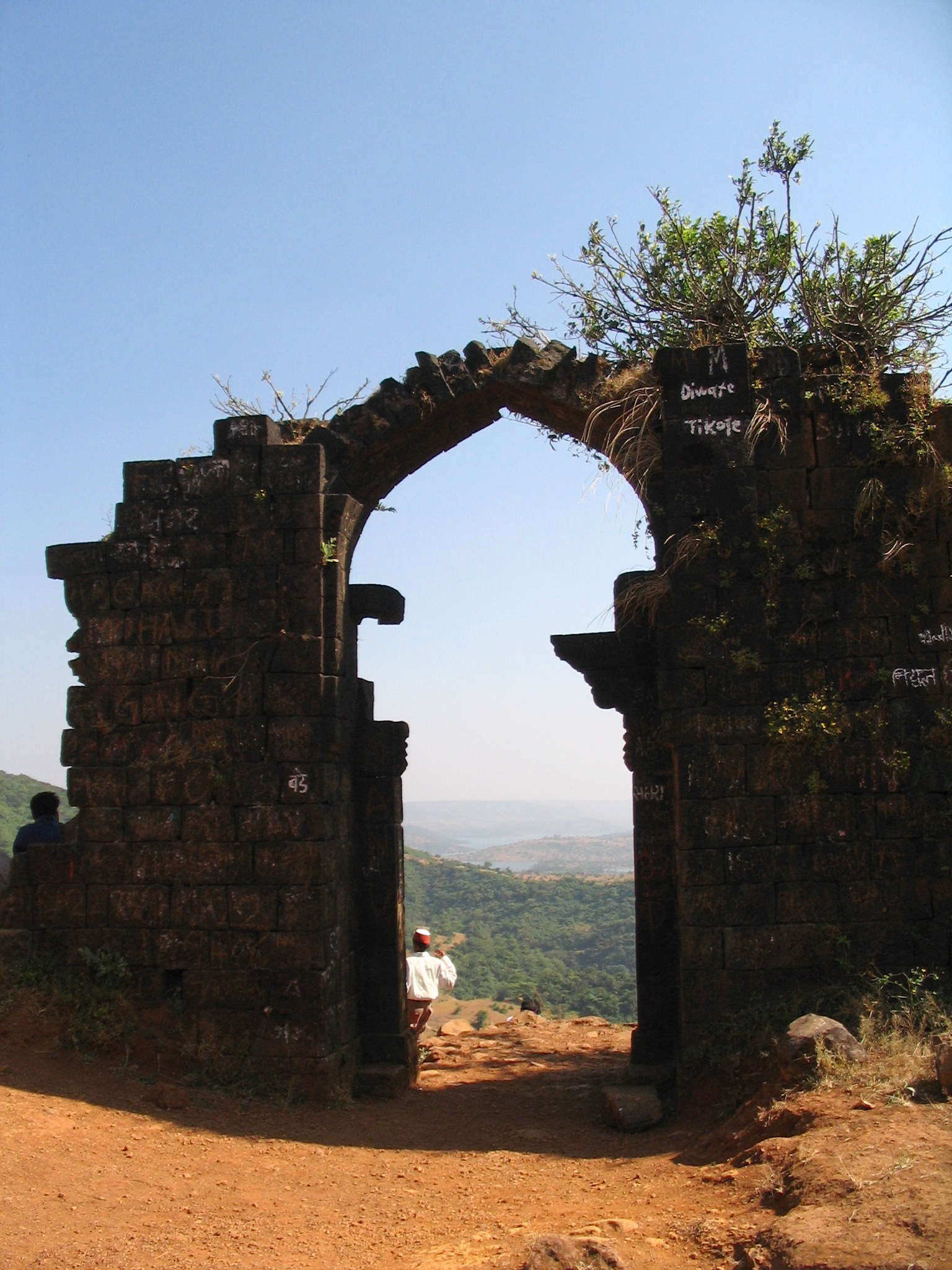 Structures Inside the Vishalgad Fort