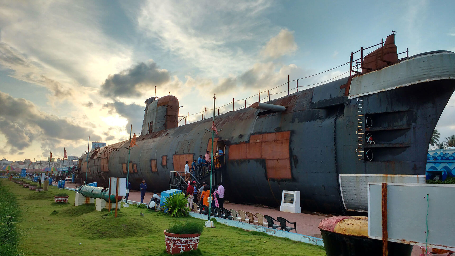 Top Place to Visit In Vizag-Submarine Museum